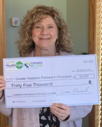 Partners in Education receives Careers in Care grant from NEPA Health Care Foundation